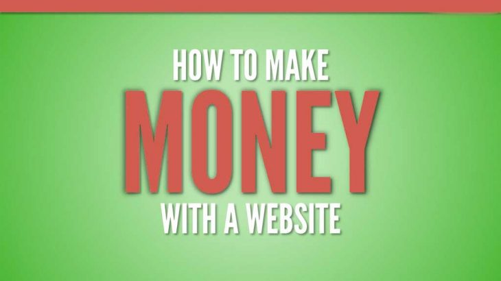 how website makes money