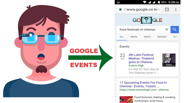 Google Events Launch