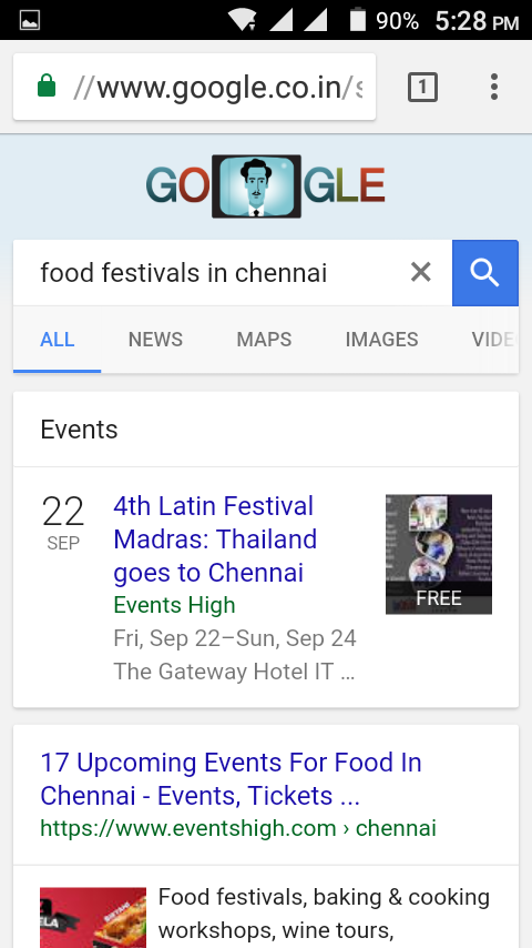 google events in city