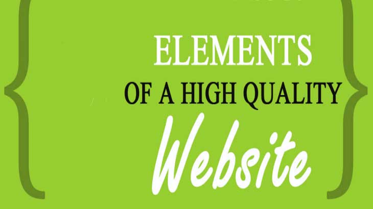 elements of a quality website